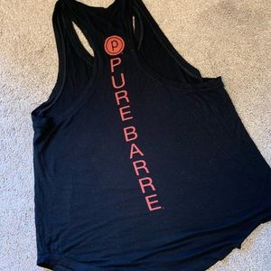 PURE BARRE tank (The back is shown on first pic)